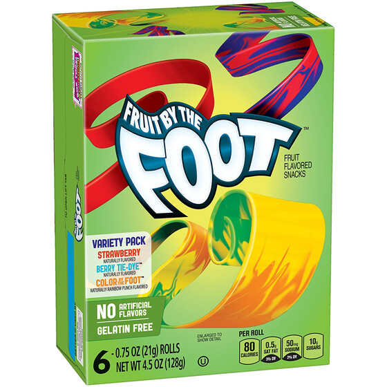 Fruit By the Foot Variety Pack 128g