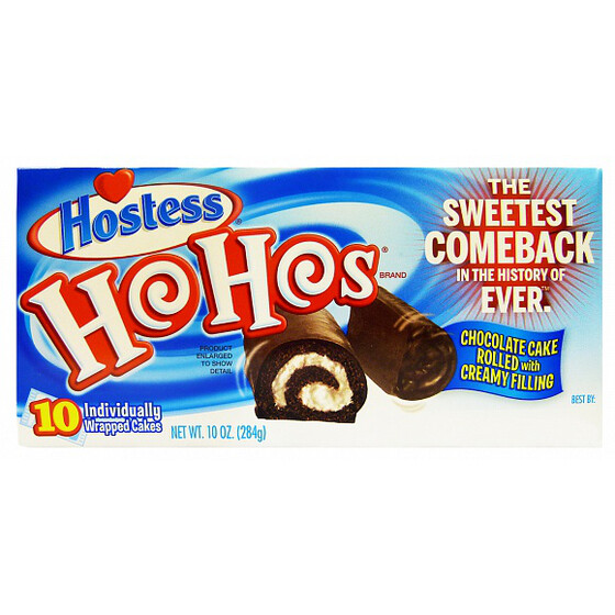 Hostess Ho Hos Chocolate