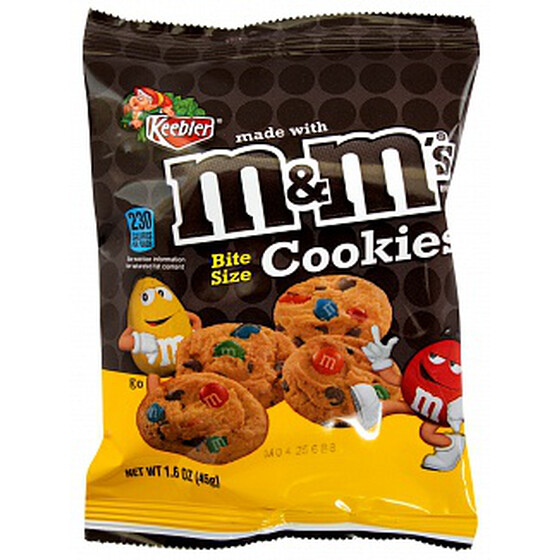 M&M Cookie Bites 45g